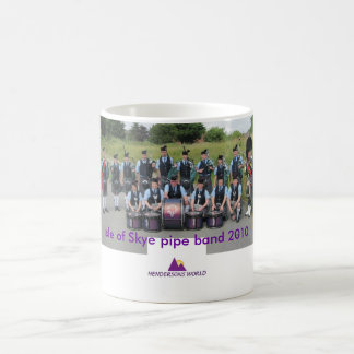 Isle of Skye pipe band in Stornoway 2010 Coffee Mug