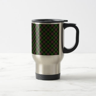 Isle of Skye Tartan Designed Print Stainless Steel Travel Mug