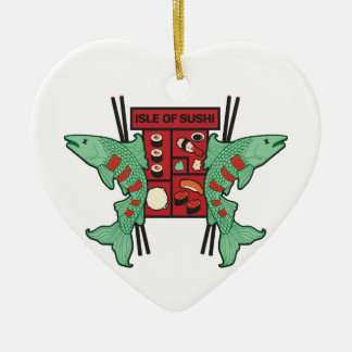 Isle of Sushi Ceramic Ornament