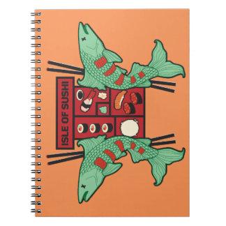 Isle of Sushi Notebook