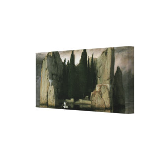 Isle of the Dead by Arnold Bocklin, Symbolism Art Canvas Print