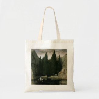Isle of the Dead by Arnold Bocklin, Symbolism Art Tote Bag