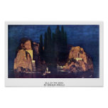 Isle Of The Dead By Böcklin Arnold Poster