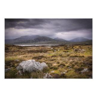 Isle of Uist Landscape Photo Print