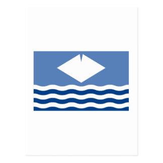 Isle of Wight Flag Postcard