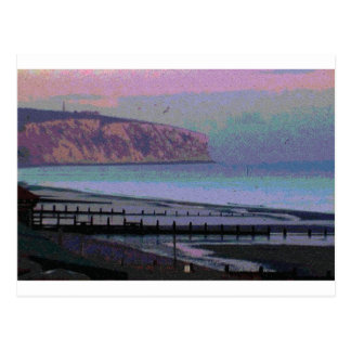 Isle of Wight in the UK Postcard