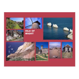 Isle of Wight multi-image Postcard