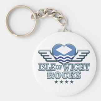 Isle of Wight Rocks v2 Keychains