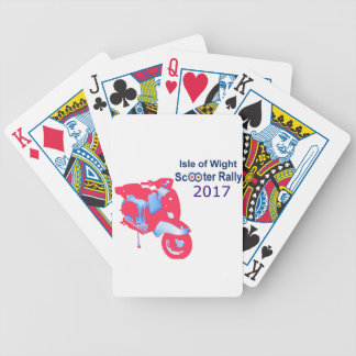 Isle of Wight Scooter Rally 2017 Bicycle Playing Cards