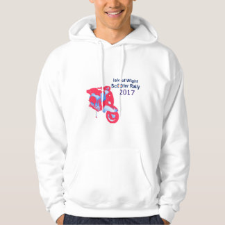 Isle of Wight Scooter Rally 2017 Men's Hoodie