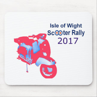 Isle of Wight Scooter Rally 2017 Mouse Pad