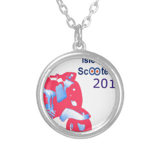 Isle of Wight Scooter Rally 2017 Silver Plated Necklace