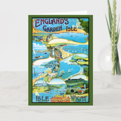 Isle of Wight Travel Poster