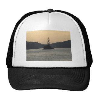 isle royale lake superior trucker hat