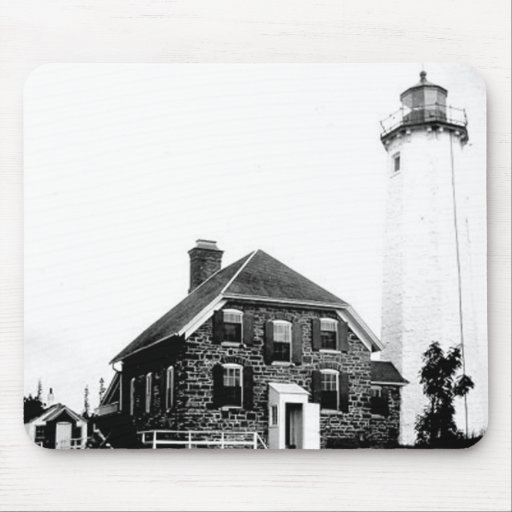 Isle Royale Lighthouse Mouse Pads