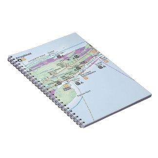 Isle Royale map notebook