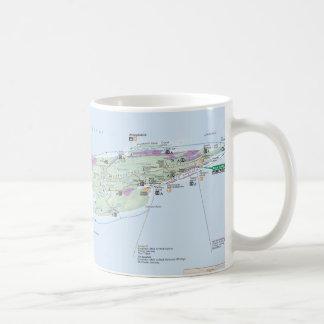 Isle Royale (Michigan) map mug