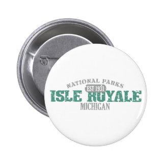 Isle Royale National Park Button