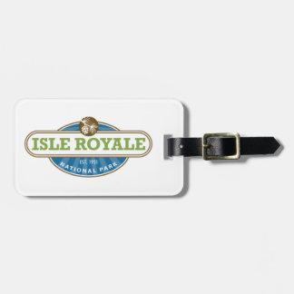 Isle Royale National Park - Michigan Luggage Tag