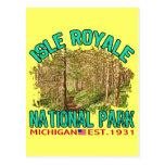 Isle Royale National Park, Michigan Postcard