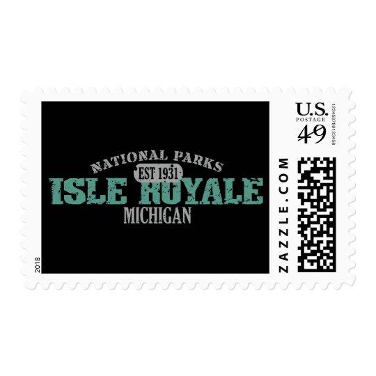 Isle Royale National Park Postage