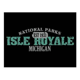 Isle Royale National Park Post Card