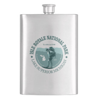 Isle Royale NP Flask