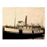 Isleño del barco de vapor del vintage