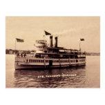 Isleño del vapor mil tarjetas postales