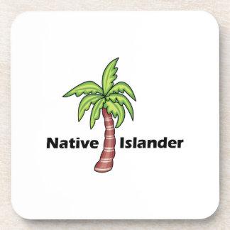 Isleño nativo posavasos