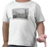 Isleños y monumentos de la isla de pascua, 1786 camiseta