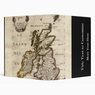 Isles Britanniques - 1700 Nicolas Fils Sanson Map Binder