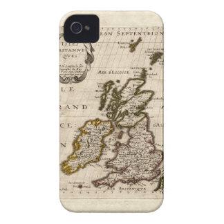 Isles Britanniques - 1700 Nicolas Fils Sanson Map Case-Mate iPhone 4 Case
