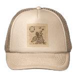 Isles Britanniques - 1700 Nicolas Fils Sanson Map Trucker Hat
