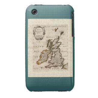 Isles Britanniques - 1700 Nicolas Fils Sanson Map iPhone 3 Case-Mate Case