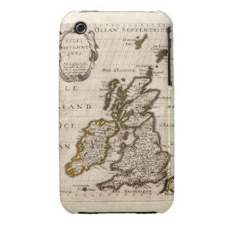 Isles Britanniques - 1700 Nicolas Fils Sanson Map iPhone 3 Cover