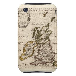 Isles Britanniques - 1700 Nicolas Fils Sanson Map iPhone 3 Tough Cover