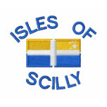 Isles of Scilly and Scillonian Cross Sleeve Polo