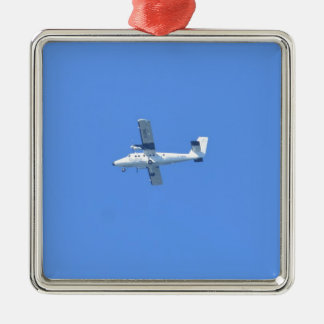 Isles Of Scilly Skybus Metal Ornament