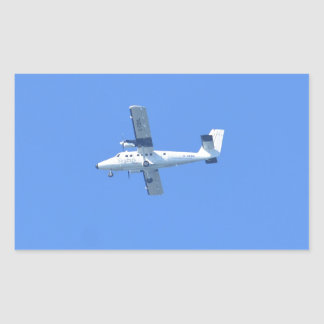 Isles Of Scilly Skybus Rectangular Sticker