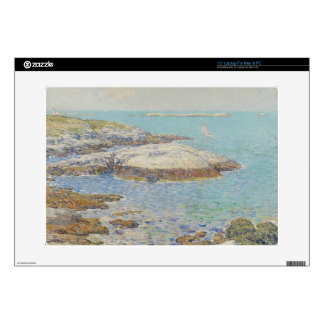 "Isles of Shoals, 1899 (oil on canvas) 15"" Laptop Decal"