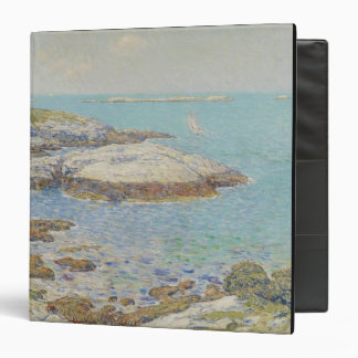 Isles of Shoals, 1899 (oil on canvas) 3 Ring Binder