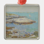 Isles of Shoals, 1899 (oil on canvas) Christmas Tree Ornament