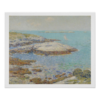 Isles of Shoals, 1899 (oil on canvas) Poster