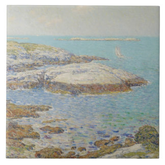 Isles of Shoals, 1899 (oil on canvas) Tile