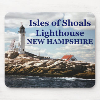 Isles of Shoals Lighthouse, New Hampshire Mousepad