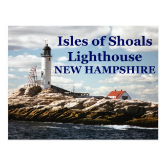 Isles of Shoals Lighthouse, New Hampshire Postcard