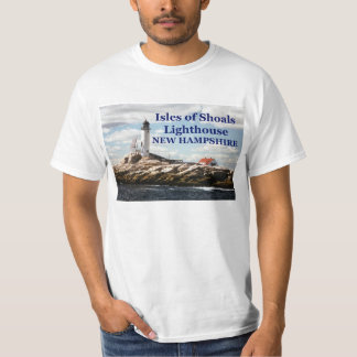 Isles of Shoals Lighthouse, New Hampshire T-Shirt
