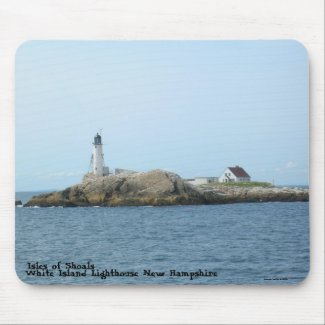 Isles of Shoals (White Island), NH - Mousepad mousepad