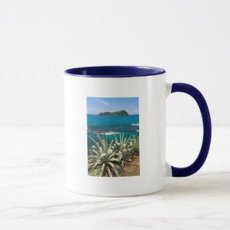 Islet and coastal vegetation mug